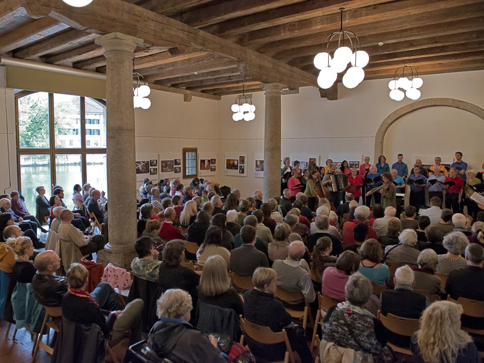 Jahreskonzert des chor der nationen solothurn im landhaus